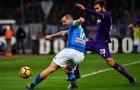Bất lực trước khung thành, Napoli chưa thể vượt mặt Inter