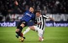 Juve - Inter bất phân thắng bại, Napoli làm 'ngư ông đắc lợi'