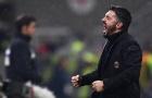 Gattuso 'gào thét' điên dại với thắng lợi đầu tiên tại Serie A