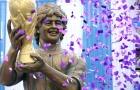 Diego Maradona được dựng tượng ở Ấn Độ