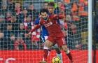 Klopp giải thích lý do Salah phải 'đi tắm sớm' ở trận derby