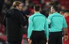 Klopp 'bám riết' trọng tài vì Liverpool bị từ chối bàn thắng