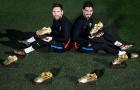Messi rủ Suarez cùng nhau khoe Giày Vàng