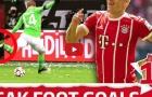 Ozil, Robben và top 10 bàn thắng từ chân không thuận đẹp nhất Bundesliga