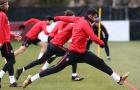 Diego Costa và sải bước cực dị trên sân tập