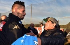 Lại nổ súng, Hamsik đã ngang hàng với Maradona