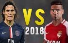Đọ tài Edinson Cavani vs Radamel Falcao mùa 2017/18