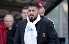 AC Milan bác bỏ tin đồn Gattuso xin từ chức