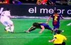 Angel di Maria từng khiến Carles Puyol bẽ mặt với pha đi bóng này