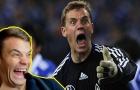 Manuel Neuer cũng có những sai lầm chết người