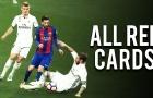 Sergio Ramos - Chuyên gia nhận thẻ đỏ ở El Clasico