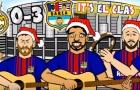 Bài hát vui nhộn về thất bại của Real tại El Clasico