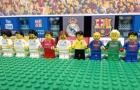 Nhìn lại trận El Clasico theo phong cách Lego