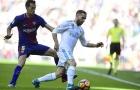 Sergio Busquets thể hiện ra sao trước Real Madrid?