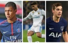 Top 10 cầu thủ trẻ 'làm mưa làm gió' năm 2017