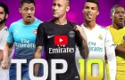 Top 10 cầu thủ kĩ thuật nhất làng bóng đá năm 2018