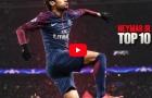 Top 10 bàn thắng đẹp nhất năm 2017 của Neymar