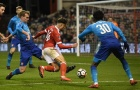 Lãnh hai quả phạt đền, Arsenal thua thảm trước đội hạng dưới