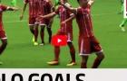 Lewandowski, Werner và top 5 pha solo ghi bàn đẹp nhất Bundesliga
