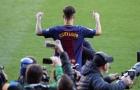 Sau tất cả, Coutinho lần đầu đặt chân lên thảm cỏ Camp Nou