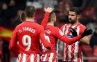 Highlights: Atletico Madrid 3-0 Lleida Esportiu (Lượt về vòng 1/8 Copa del Rey)