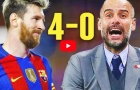 Trận đấu Lionel Messi khiến Pep Guardiola phát cáu