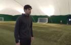 Diego Costa dứt điểm ngon lành trong thử thách với máy