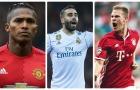 Top 10 hậu vệ phải 'đáng giá ngàn vàng' khiến cả thế giới thèm khát