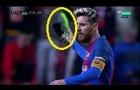 Lionel Messi làm gì khi tức giận?