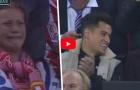 Phản ứng của Coutinho, Ronaldo, Neymar khi Messi ghi bàn