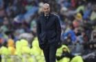 Real vẫn không thể thắng, Zidane thừa nhận đã tung hết bài