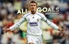 Tất cả bàn thắng của David Beckham cho Real Madrid