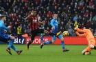 Chấm điểm Arsenal trận Bournemouth: Công tới thủ đều nát!