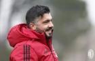 Chuyện hiếm, Gattuso cười tươi ngày hội quân