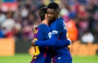 Ousmane Dembele chơi đầy nỗ lực vs Real Sociedad