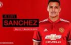 Alexis Sanchez, canh bạc đắt giá của Mounited