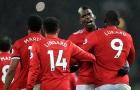 Hưng phấn sau chuyến nghỉ dưỡng, Man United vùi dập Stoke City