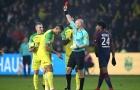 Trọng tài ngáng chân cầu thủ Nantes bị đình chỉ