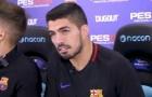 Suarez phấn khích tột độ thách đấu Play Station với đồng đội
