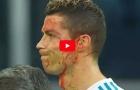 Những lần bị phạm lỗi thô bạo của Cristiano Ronaldo