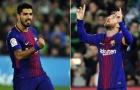 Phong độ ghi bàn của Messi và Suarez khủng khiếp đến mức nào