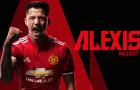 Alexis Sanchez CHÍNH THỨC gia nhập Man United
