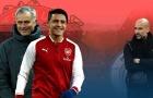 Sanchez & 11 danh thủ từng là học trò của cả Mourinho và Guardiola
