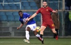 Highlights:Sampdoria 1-1 AS Roma (Đá bù Serie A)