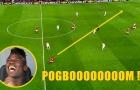 Paul Pogba chuyền dài ra sao?