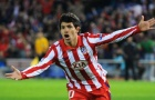 Sergio Aguero khi còn tung hoành tại Atletico Madrid