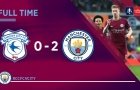 Highlights: Cardiff City 0-2 Man City (Vòng 4 FA Cup)