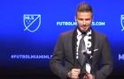 Toàn cảnh họp báo ra mắt đội bóng của Beckham