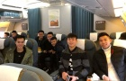 Vừa về gia đình, tuyển thủ U23 Việt Nam lại Nam tiến mừng công