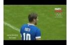 Francesco Totti thể hiện kỹ năng tuyệt vời ở trận giao hữu